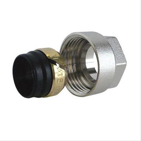 Adaptateur 3/4 EK pour tube cuivre type 16/18