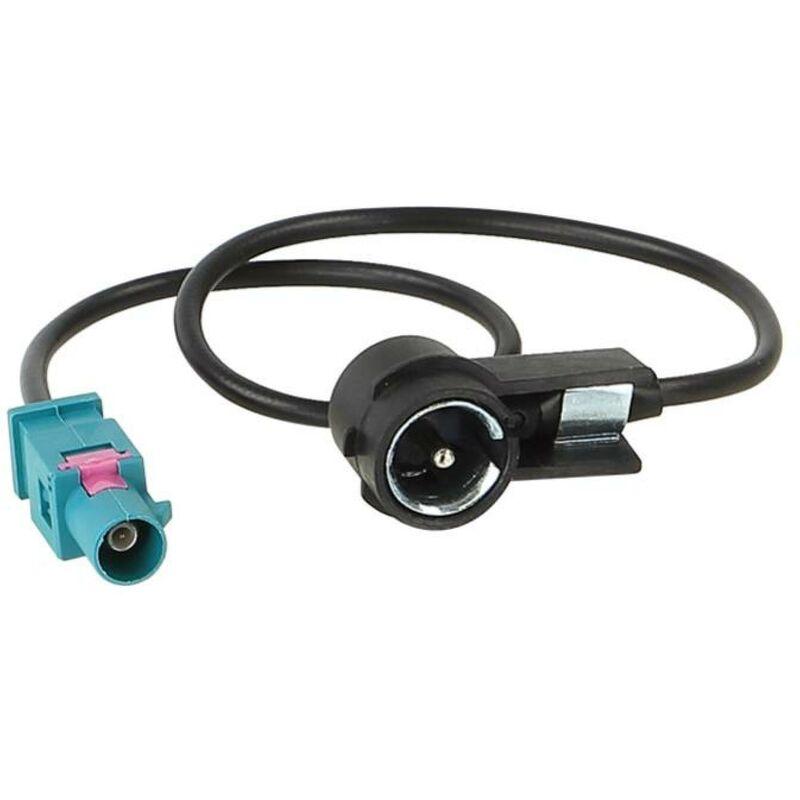 Adaptateur antenne Fakra M vers ISO M compatible avec Audi BMW Citroen Fiat Mercedes Peugeot Seat Skoda ap02
