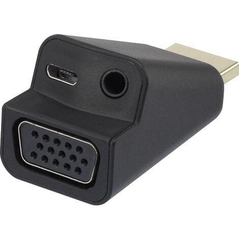 Adaptateur audio Renkforce HDMI / VGA+ Y625381