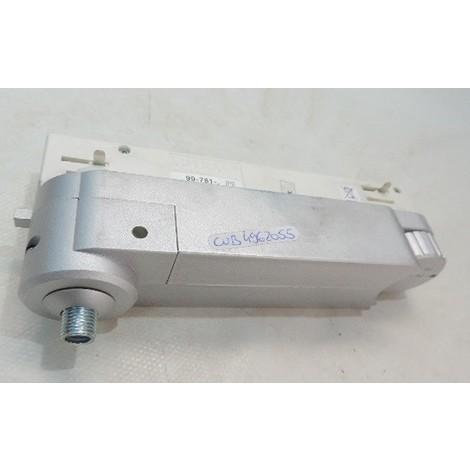 Adaptateur avec transfo electrnique 12V incorporée pour luminaire connectique JACK sur rail 230V gris TRI107 CUBISPOT 4962055