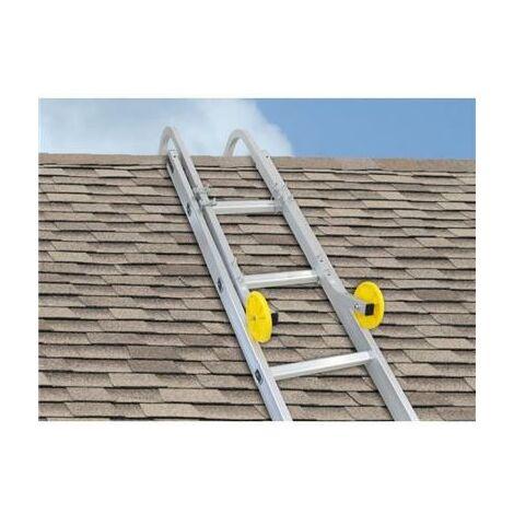 Adaptateur crochet de faitage alu pour échelle de toit
