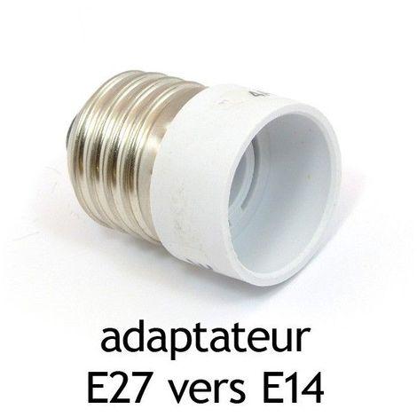 Adaptateur culot E27 vers E14
