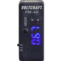 Adaptateur de mesure USB numérique;VOLTCRAFT;PM-40;CAT I;Affichage (nombre de points): 999
