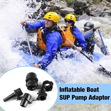 Adaptateur de pompe pour bateau gonflable Adaptateur de valve d'air multifonctionnel étanche pour lits gonflables de kayak