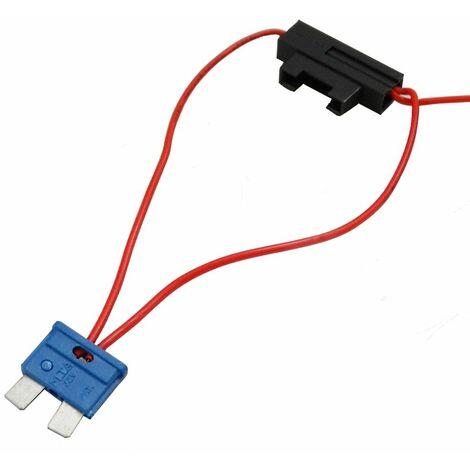Adaptateur de repiquage pour fusibles midi alimentation branchement 12V / 24V