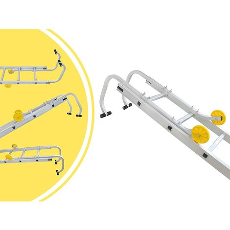 Adaptateur de Toit pour Échelle, Crochet de Toit Universel pour Echelle, 0,93 mètre(s), Charge maximale: 150 kg