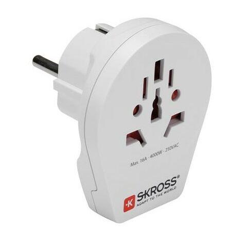 ADAPTATEUR DE VOYAGE - MONDE VERS EUROPE USB - SKR1500260