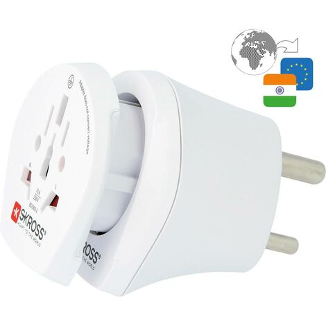 Adaptateur de voyage Skross CO W to IND 1.500215-E CO W to IND 1 pc(s)