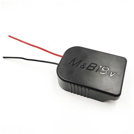 Adaptateur DIY Pour adaptateur de batterie Li-ion Makita 18V à la sortie de connexion d'alimentation de la station d'accueil