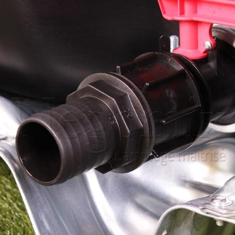 Adaptateur droit 40 mm