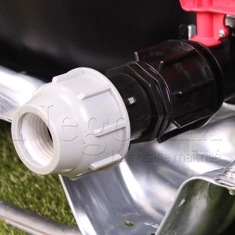 Adaptateur Droit PE 40 mm