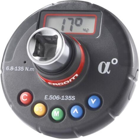 Adaptateur dynamométrique couple et angle FACOM 6.7 à 135 Nm - E.506-135SPF
