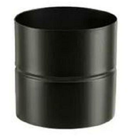 Adaptateur émaillé pour poêle à bois - Adaptateur AF - Diamètre : 150 - Couleur : Noir Mat