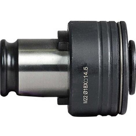 Adaptateur FES pour mandrin de taraudage à changement rapide FES1, Ø d : 7,0 mm, 4 pans 5,5 mm, Pour taraud norme JIS : M10, Pour taraud norme ISO : -