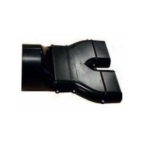 Adaptateur gaine plate à ronde 125mm acr 50/125 pluggit