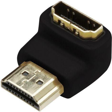 Adaptateur HDMI Digitus AK-330502-000-S [1x HDMI mâle - 1x HDMI femelle] noir X46599