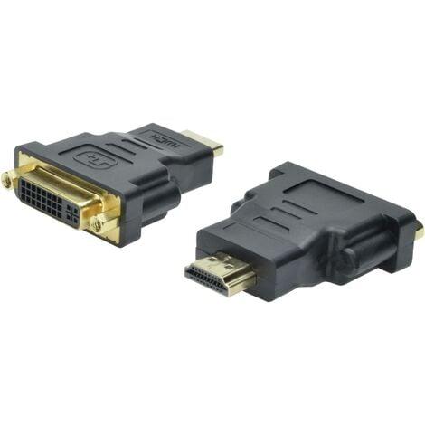 Adaptateur HDMI, DVI Digitus AK-330505-000-S [1x HDMI mâle - 1x DVI femelle 24+5 pôles] noir X46592