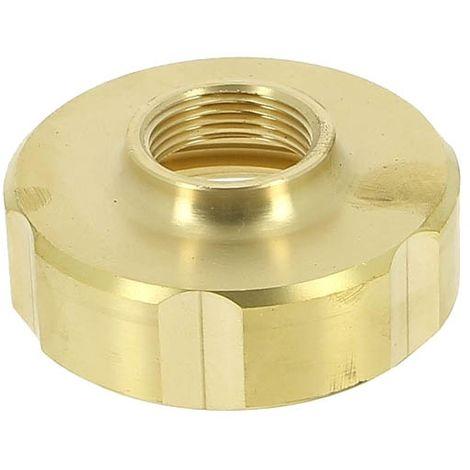 Adaptateur laiton cuve 1000L O60x6 - Femelle 20x27