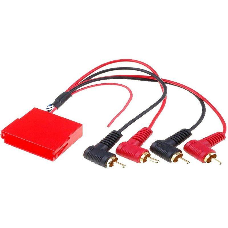 Adaptateur Mini-ISO 20 pin RCA compatible avec Audi A3 A4 A6 A8 TT