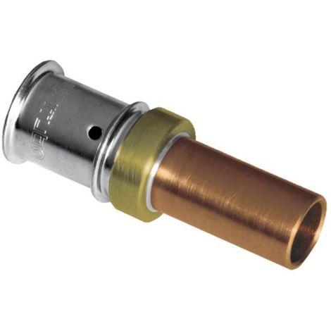 Adaptateur multicouche pour tube cuivre à sertir 20x2,25 CU22 F29731