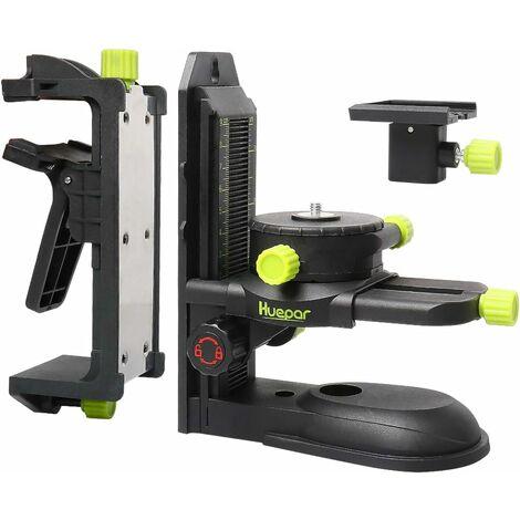 Adaptateur Niveau Laser, Base Multifonctionnell Huepar PV10+