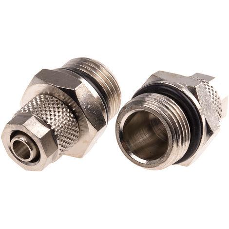 2x Té Voies Connecteur pour tube et tuyau connexions Ø 3 mm