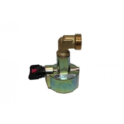 Adaptateur pour désherbeurs thermiques à gaz BERTHOUD