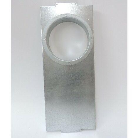 Adaptateur pour montage direct de plénum 8 piquages et plénum extraction 7 piquages sur les caissons VMC IDEO UNELVENT 890020
