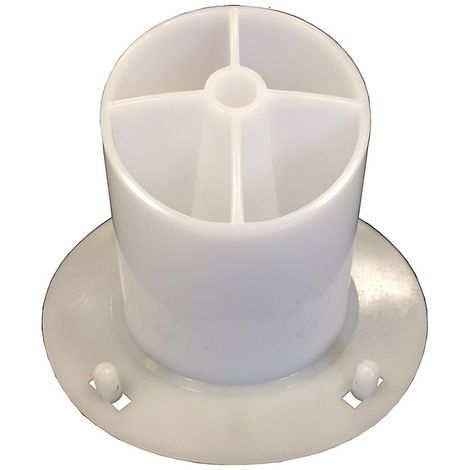 Adaptateur pour papier découpé   plastique Brinox Spiral   medial