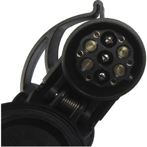 Adaptateur pour remorque SecoRüt Adapter Multicon WeSt-System 7/13 polig 50110 west [prise femelle 13 pôles - prise mâle Multicon WeSt-System, pris X858651