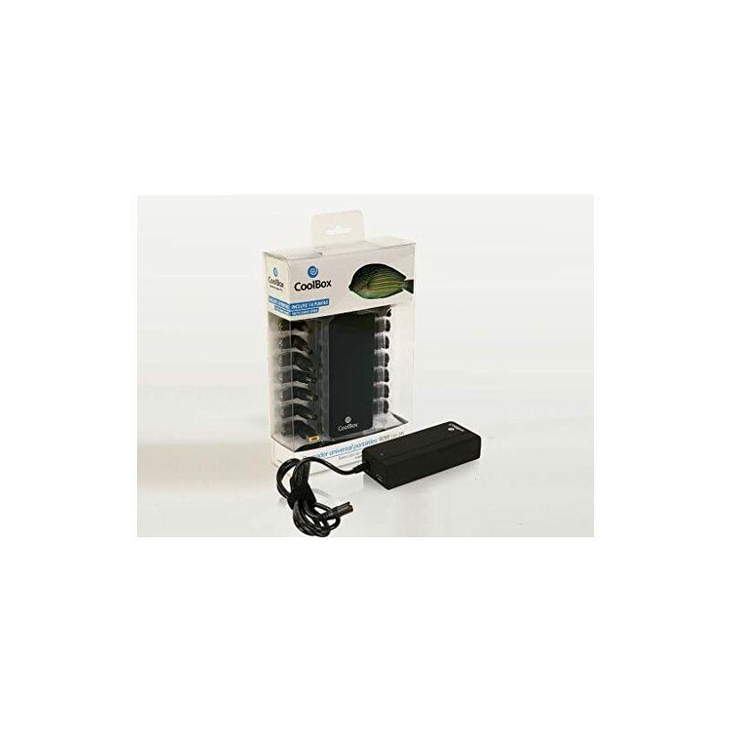 Adaptateur secteur universel pour ordinateur portable 90w auto coolbox