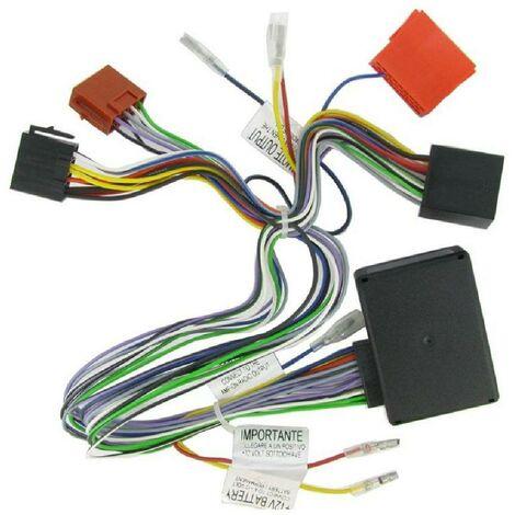 Adaptateur systeme actif AI53AR01 compatible avec Alfa Romeo avec ampli