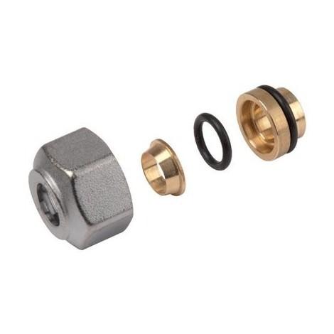 Adaptateur tube cuivre R178 16 x 16 - GIACOMINI : R178X018