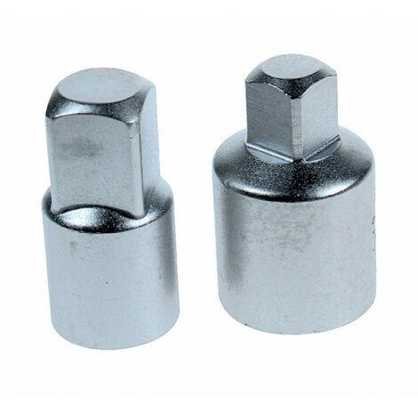 3//8 Pouce Femelle à 1//4 Pouce Mâle Chrome Vanadium Douille Impact Adaptateur Adaptateur