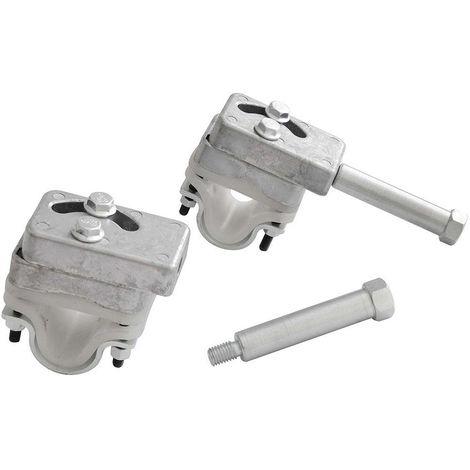 Adaptateurs de roues pour brouette x 2
