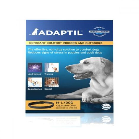 Adaptil Calming Dog Collar (Medium/Large Dog) (May Vary)
