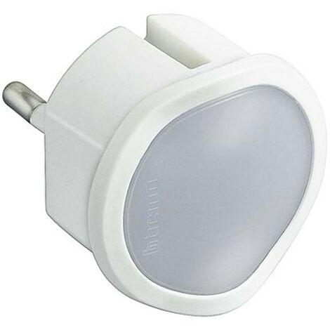 Adattatore Bticino luce emergenza con spina tedesca bianco S3625DL