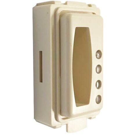 LINCE 4160 ADATTATORE x SERIE BTICINO LIVING LIGHT TRANSPONDER 4157 E 4158