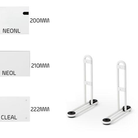 Adax Leg Brackets LOW PROFILE : NEO, CLEA, WiFi - Portable, Floor Mounting