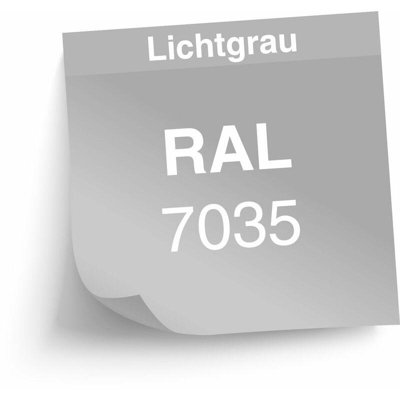 """ADB Stahlschrank Hochschrank /""""L/"""" 1920x780x380 mm Lichtgrau Schrank"""