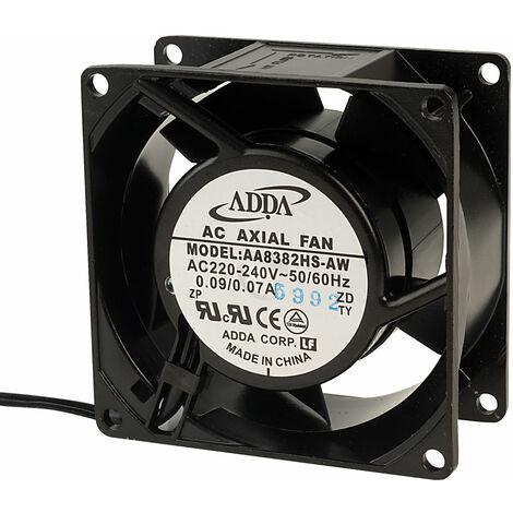 Adda AA8382HS-AW Axial Fan Sleeve Bearing 230 VAC 80 x 80 x 38mm
