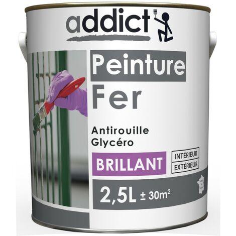 Addict EG Peinture Fer Laque Antirouille Brillant 2L5