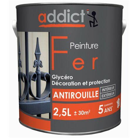 Addict Peinture Fer Antirouille 2L5