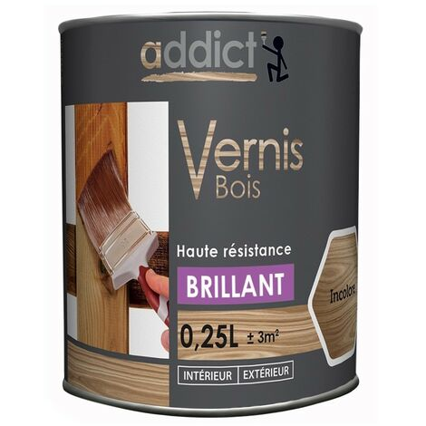 Addict Vernis Bois Brillant 250ml