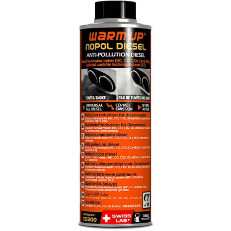Additif anti pollution diesel WARM UP - 400ml