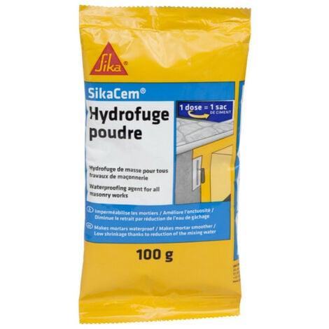 Additif imperméabilisant béton et mortier SIKA SikaCem Hydrofuge Poudre - 100g - Beige
