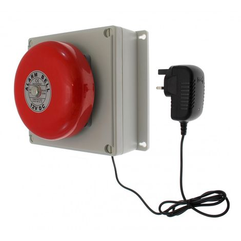 Additional Bell Kit for the 1000 metre Wireless Warehouse & Factory Bell System [006-2010]
