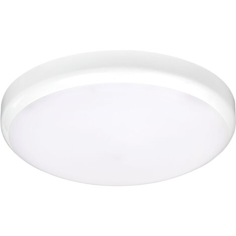 ADELA - Hublot Ext. IP54 IK07, blanc, LED integ. 13W 4000K 1000lm