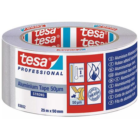 Adhesif Aluminium 50565 25 m x 50 mm Tesa