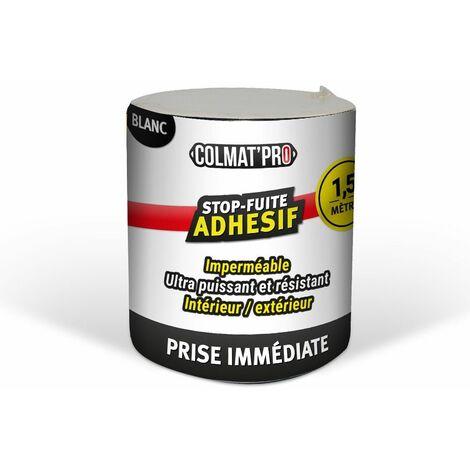 Adhésif anti-fuite COLMAT'PRO 1,50m - Blanc